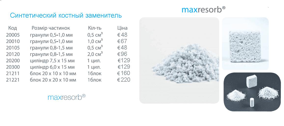 maxresorb синтетический костный заменитель фото 9