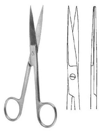 ножницы с острыми концами прямые фото 5