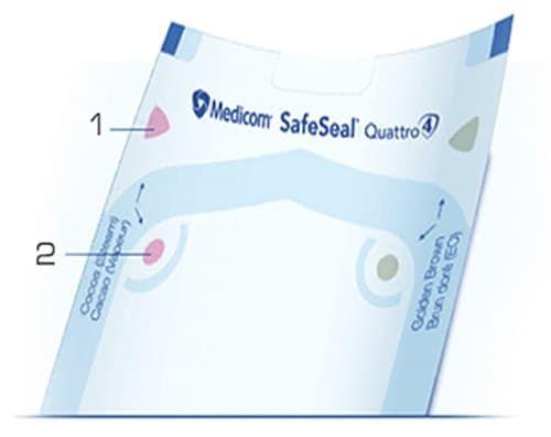 пакет для стериліз. з інд. 134х254 мм medicom (медіком), 1 шт. фото 5