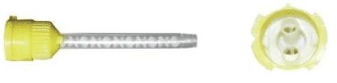 насадки желтые для а-силикона с200, 10шт фото 5
