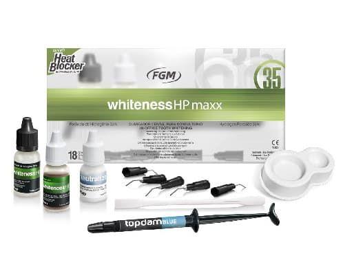міні набір для відбілювання whiteness hp maxx 35% (вайтенесс хп), 1 упак. фото 6