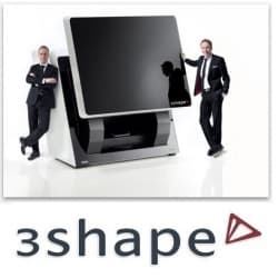 3Shape 3D scaner, сканер cad cam