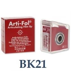 Бумага Артикуляционная Bausch bk21 фольга-рулон 8 мкм