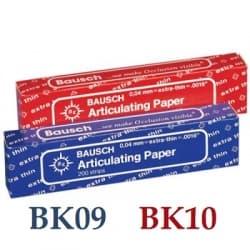 Бумага Артикуляционная прямая Bausch BK09/ВК10 40мкм