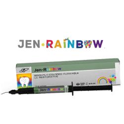 JEN-RAINBOW детская цветная пломба 1,5 г шприц