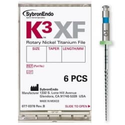 K3 XF SybronEndo Kerr, 6шт