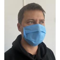 маски голубые