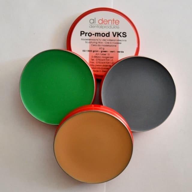 Воск моделировочный для безметалловой керамики PRO-MOD VKS бежевий, 60 г (02-1370)